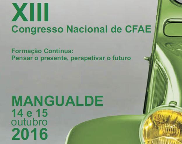 XIII Congresso Nacional de CFAE