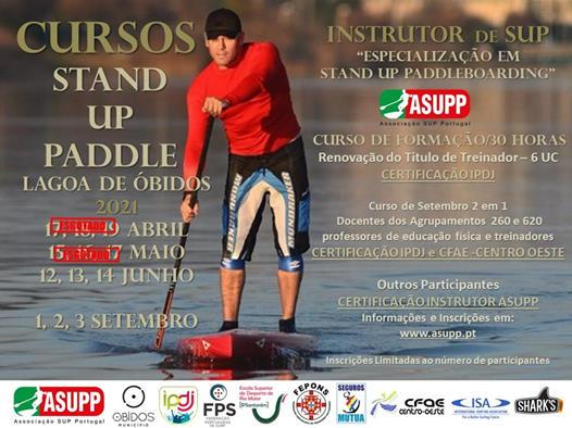 Cursos de Instrutor de SUP  CURSOS CERTIFICADOS IPDJ