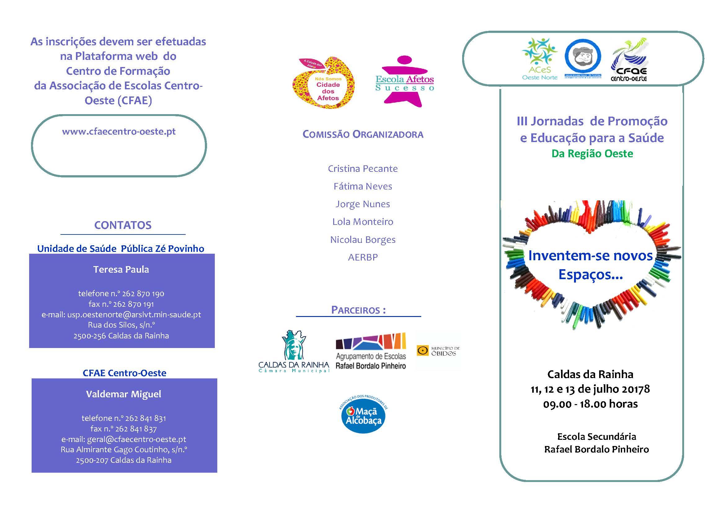 031A2018 - Jornadas de Promoção e Educação Para a Saúde(PES)