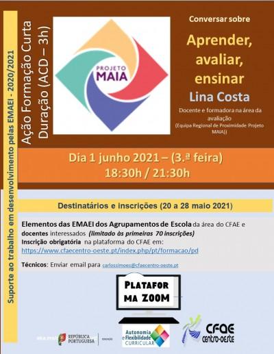 15NF2021 - Projeto MAIA: Aprender, avaliar e ensinar