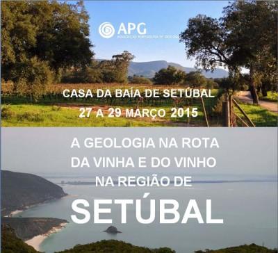 11NF2015 - Geologia na Rota da Vinha e do Vinho da Península de Setúbal e da Serra Arrábida