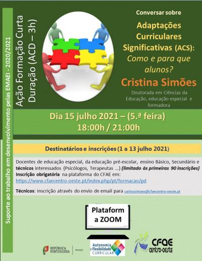 17NF2021 - Adaptações Curriculares Significativas: Como e para que alunos?